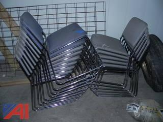 Lot of 15 Stackable KFI Chairs