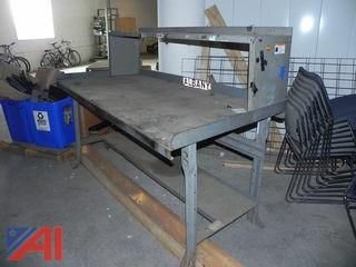 Metal Work Bench/Table