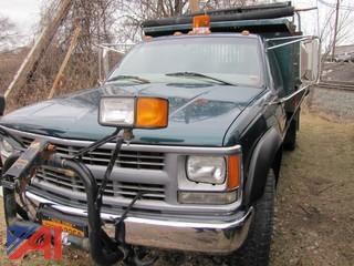 1998 Chevy C/K 3500 Pickup w/ Plow & Dump