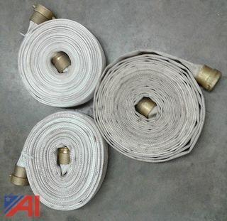 (40) 2 1/2 50' White Handline Hoses