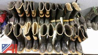 (10) Pairs of Rubber Boots