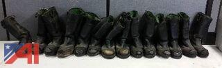 (7) Pairs of Leather Boots