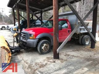**Lot Updated, Truck does start and operate** 2005 Ford Super Duty F550 Dump
