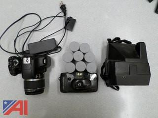 Assorted Cameras