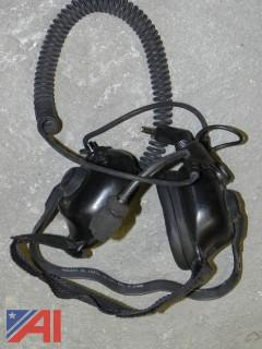 Lot of 14-Fire-Com UH-20 Headsets