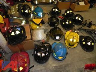 Lot of Fire Fighting Helmets