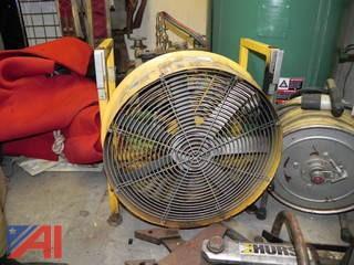 Super Vac Gas Powered Ventilation System