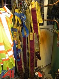 Lot of 10 Gemtor Ladder Belts w/ Carabiners