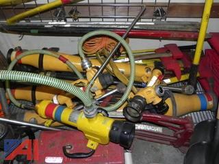 Lot of 3 Angus Fire Foam Uniductors