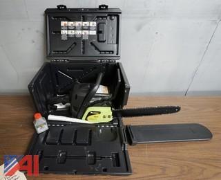 Poulan #P3816 Gas Chain Saw & Case