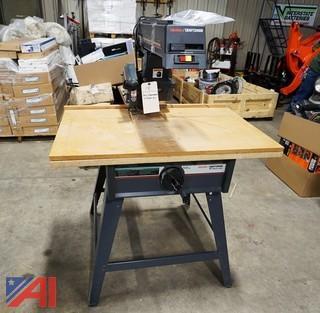"""Craftsman 2.75Hp 10"""" Radial Arm Saw"""