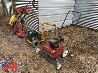 Miscellaneous Lot of Yard Equipment