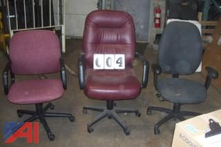 (3) Office Desk Chairs