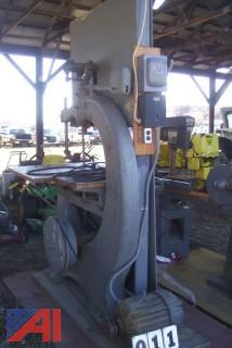 "Witherby Rugg & Richardson 36"" Band Saw"