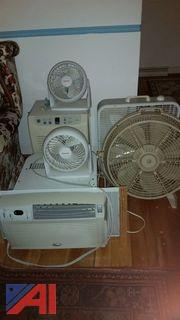 Lot of Assorted Fans and More