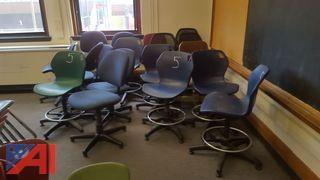 (18) Assorted Office Chairs