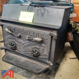 Timberline Pedestal Wood Stove