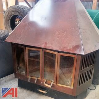 Wood Stove with Blower