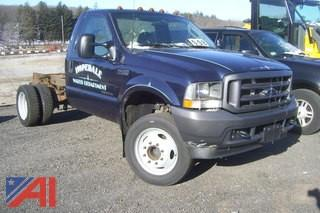 2003 Ford F450 Cab and Chassis