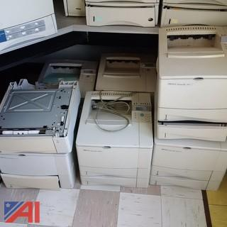 (7) HP Laserjet 4000 Series Printers
