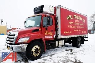 2012 Hino 338 20' Refrigerated Box Truck/230