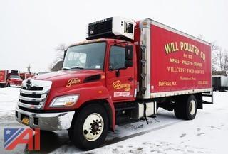 2012 Hino 338 20' Refrigerated Box Truck/231