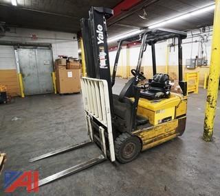Yale 36 Volt Ride on Forklift