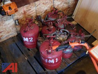 (10+) Metal Safety Gas Cans