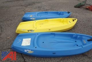 (3) Kayaks
