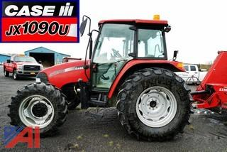2005 Case JX1090U 4WD Tractor/Turbo Charged