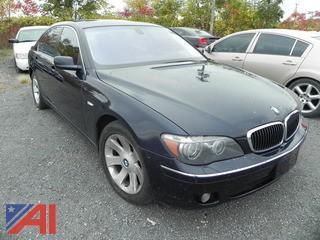 2006 BMW 750i 4DSD