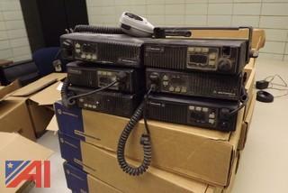 (15) Used Motorola Maxtrac Vehicle Radios