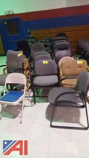 Lot of Assorted Office Chairs