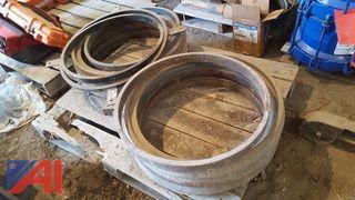 Lot of Manhole Risers