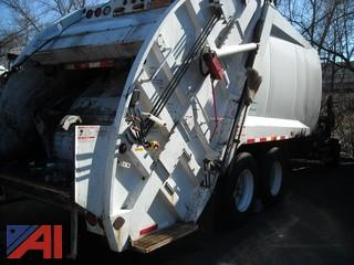 2008 Freightliner M2106 Extended Cab w/ McNeilus 25 CY Rear Load Packer Body, XC25