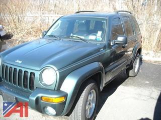 2003 Jeep Liberty Limited Edition 4 DR SUV, Dark Green