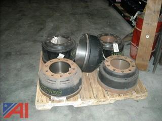 (2) Pallets of Truck Brake Drums