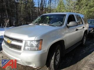 2012 Chevy Tahoe SUV Police Package