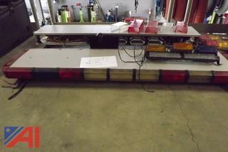(2) LED light bars and various light bar equipment