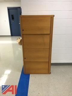 Wood Finish Cabinet