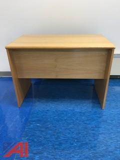 Wood Side Desk