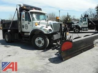 2007 International 7400 Dump w/ Plow