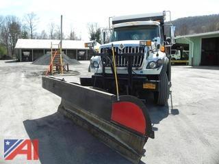 2012 International 7500 Dump w/ Plow