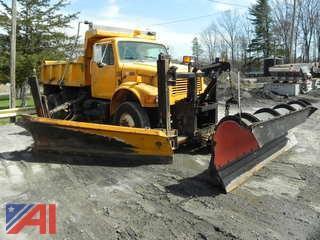 2002 International 4800 Dump w/ Plow & Wing