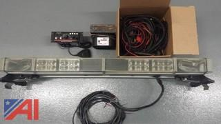 Whelen Light Bar and Code 3 Sire Controller