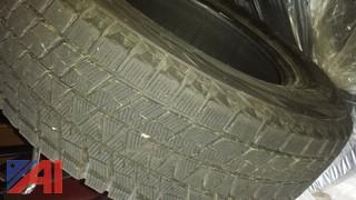 (4) Bridgestone Blizzak DM Tires