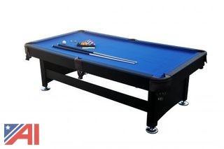 8' B014 Slate Pool Table