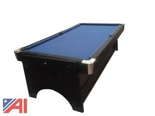 8' HA-27090B 2-in-1 Spin Around Table