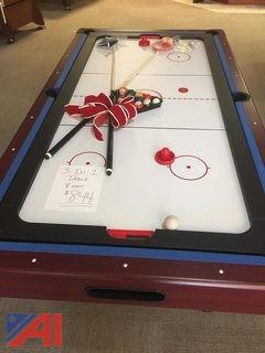 8' HB-3701 3-in-1 Multi-Game Table