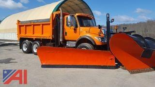 2006 International 7600 SBA  6x4 Dump Truck